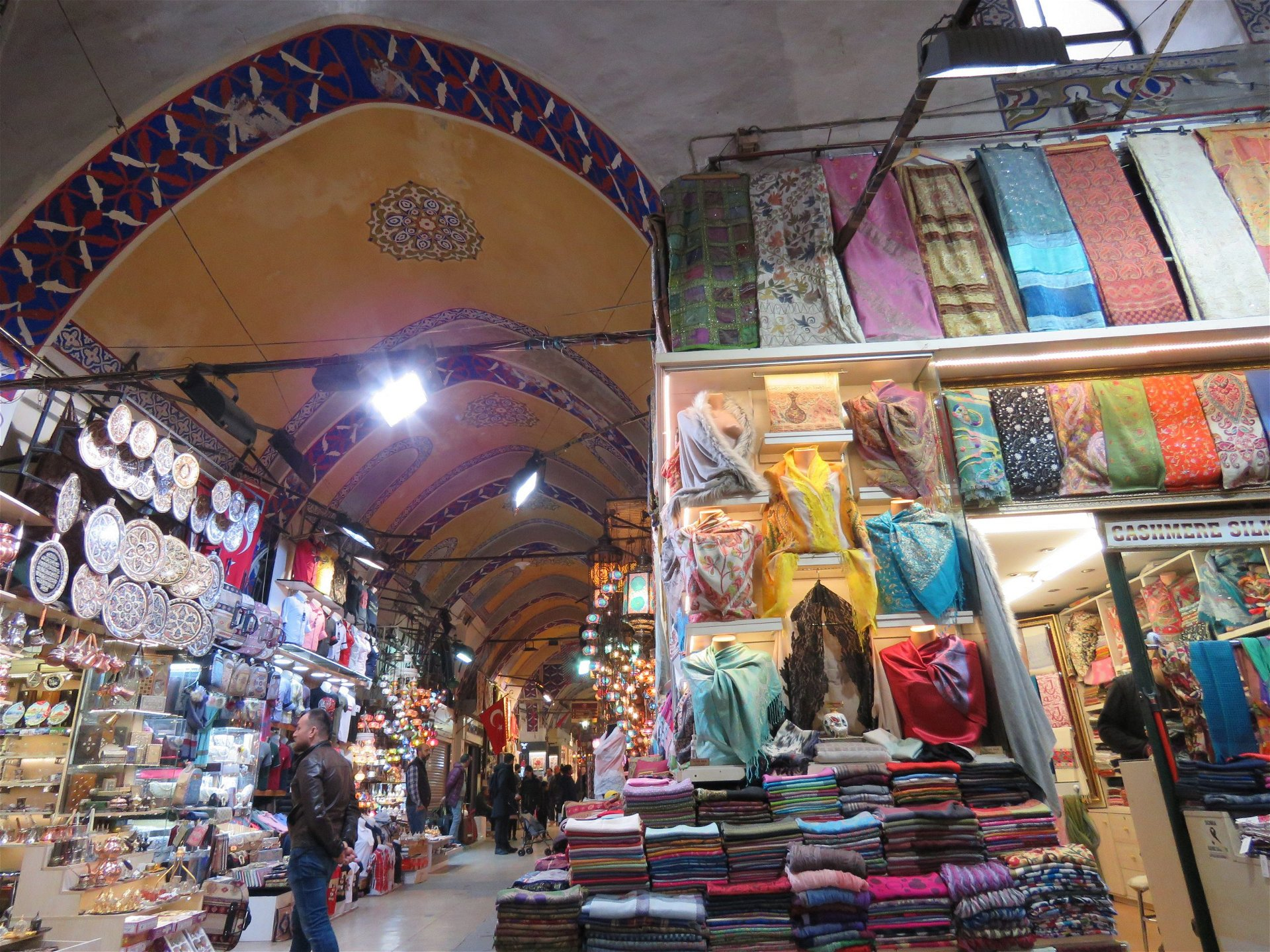 marchés bazar istanbul turquie shopping